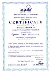 QMS Lena internal