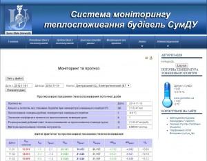 Система моніторингу теплоспоживання 1